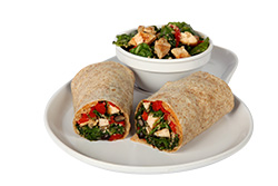 Kale and Quinoa Wrap